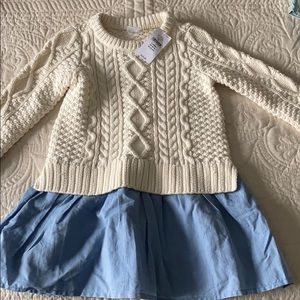 Toddler Girl GAP Knit sweater dress